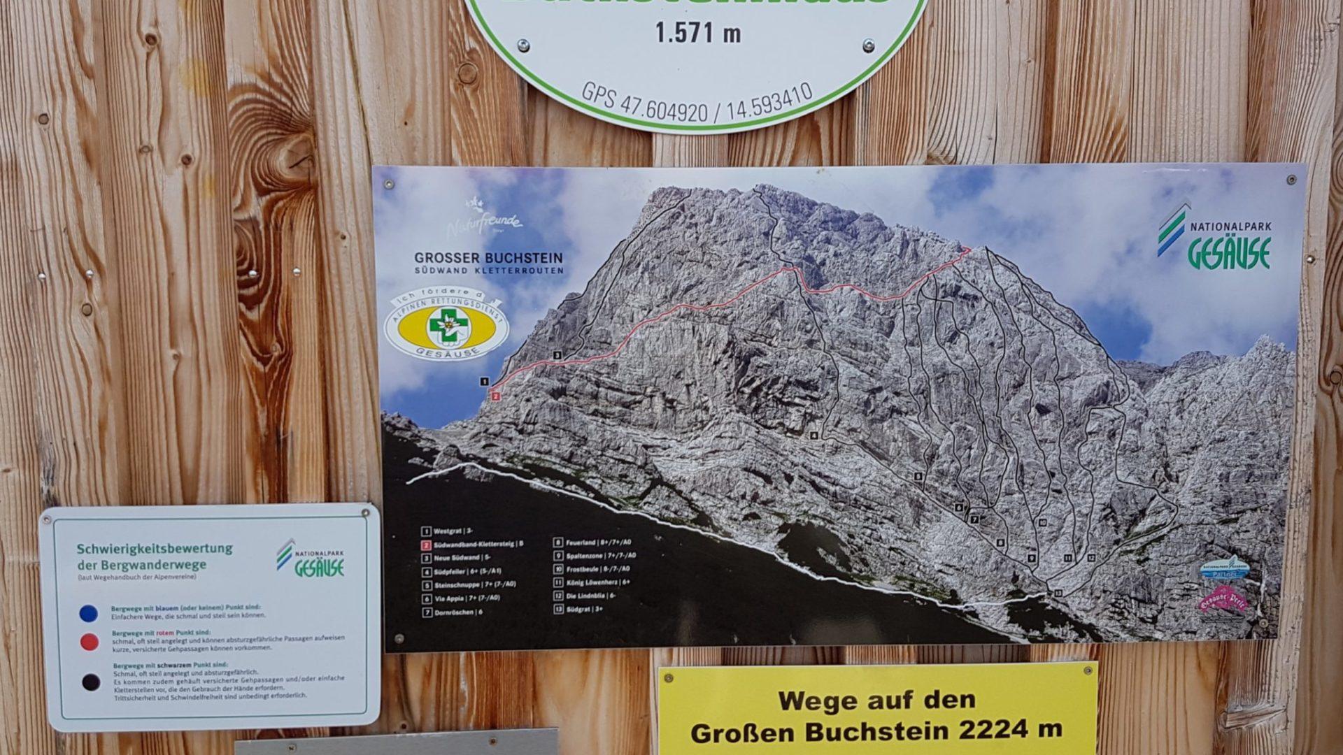 Buchsteinhaus Privatzimmer und Ferienwohnungen Gassner Nationalpark Gesäuse nördlich der Enns Gesäuse gibt Kraft
