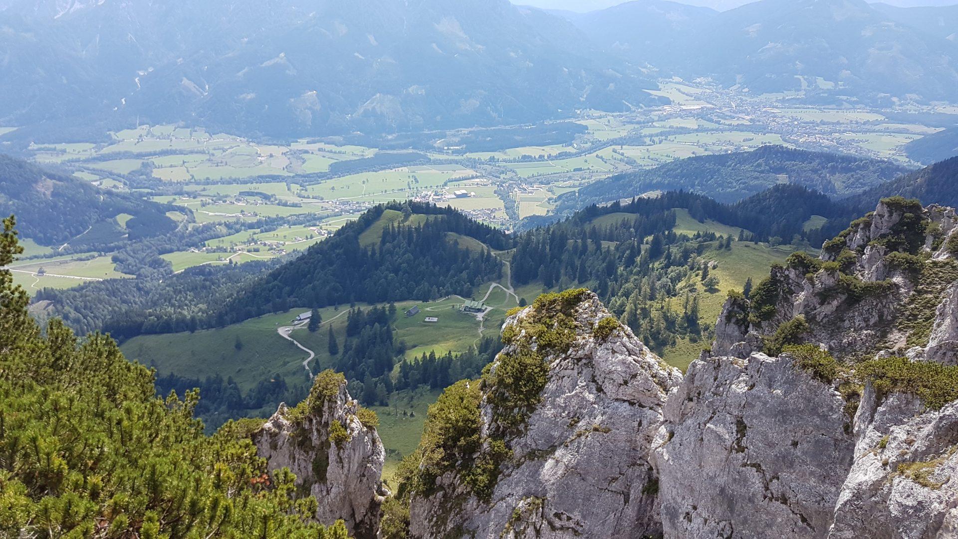 Klettersteig Leopoldsteinersee : Klettersteige im gesäuse umgebung privatzimmer und